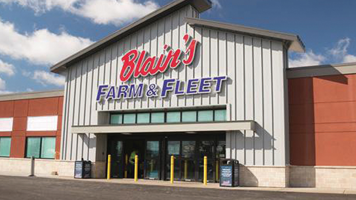 815ceeae1 Blain's Farm & Fleet. The Back Story: Based in Janesville, WI. Private and  family-owned since founding in 1955. The chain prides itself on the trust  it has ...